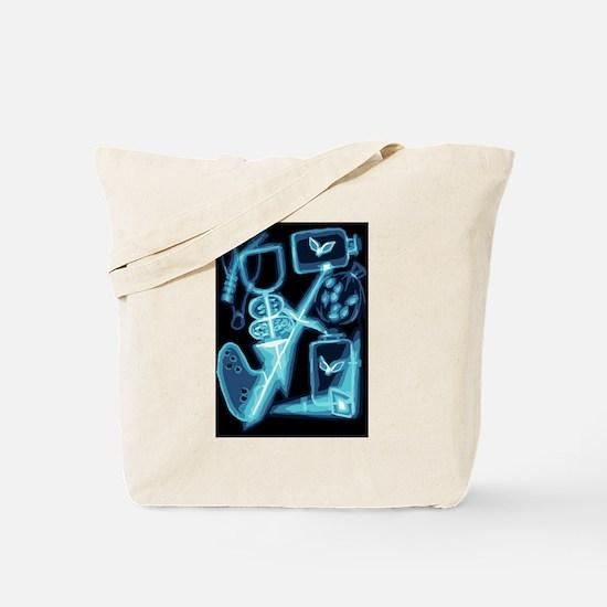 Adventuring Bag X-Ray Tote Bag