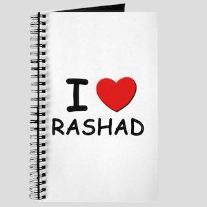 I love Rashad Journal