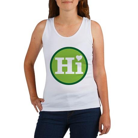 Heart Hawaii Hi Mint Tank Top