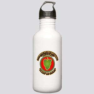 Army - 24th IN DIV - SSI Stainless Water Bottle 1.