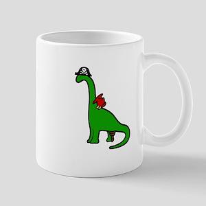 Pirate Dinosaur - Brachiosaurus Small Mug