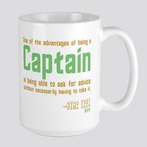 Captain Kirk Quote Mug