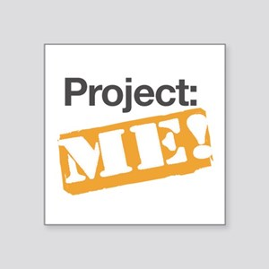"""ProjectMe! Personal Training Square Sticker 3"""" x 3"""