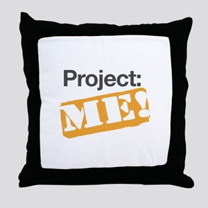 ProjectMe! Personal Training Throw Pillow