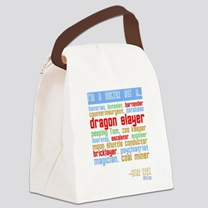 McCoy Quote Canvas Lunch Bag