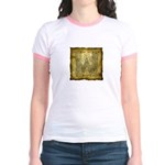 Celtic Letter W Jr. Ringer T-Shirt