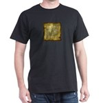 Celtic Letter W Dark T-Shirt