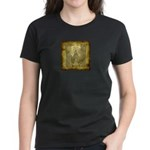 Celtic Letter W Women's Dark T-Shirt