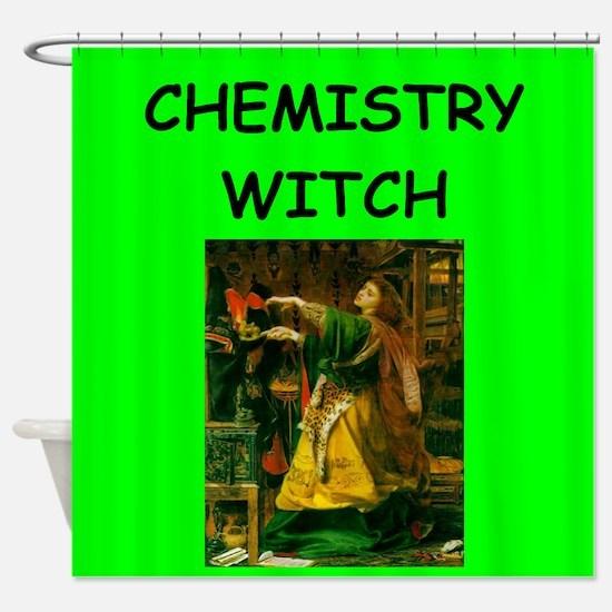 chemistry Shower Curtain