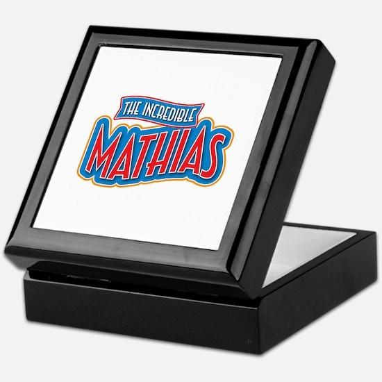 The Incredible Mathias Keepsake Box