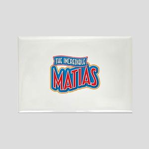 The Incredible Matias Rectangle Magnet