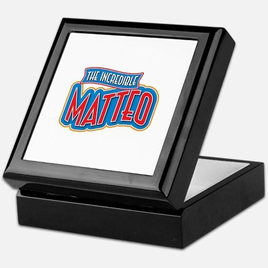 The Incredible Matteo Keepsake Box