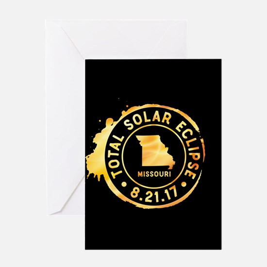 Eclipse Missouri Greeting Card