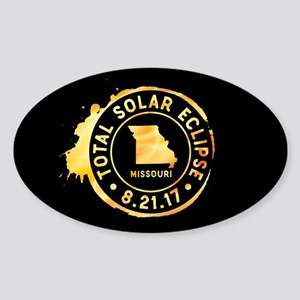 Eclipse Missouri Sticker (Oval)