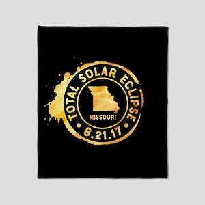 Eclipse Missouri Throw Blanket