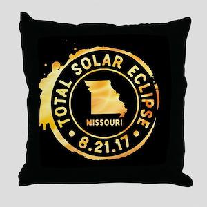 Eclipse Missouri Throw Pillow