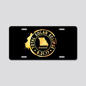 Eclipse Missouri Aluminum License Plate