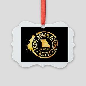 Eclipse Missouri Picture Ornament