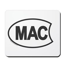 Oval Mac Mousepad