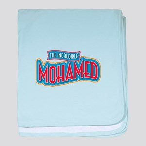 The Incredible Mohamed baby blanket