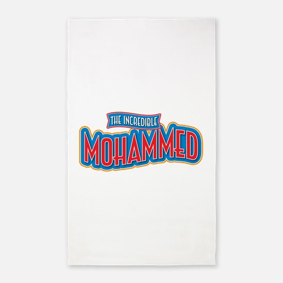The Incredible Mohammed 3'x5' Area Rug