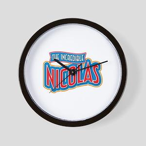 The Incredible Nicolas Wall Clock