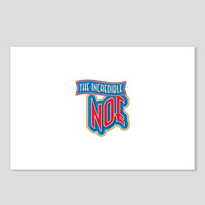 The Incredible Noe Postcards (Package of 8)