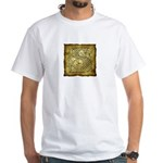 Celtic Letter S White T-Shirt