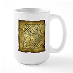 Celtic Letter S Large Mug