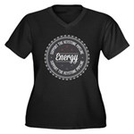Support The Keystone Pipeline Plus Size T-Shirt