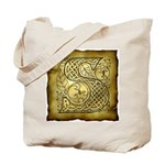 Celtic Letter S Tote Bag