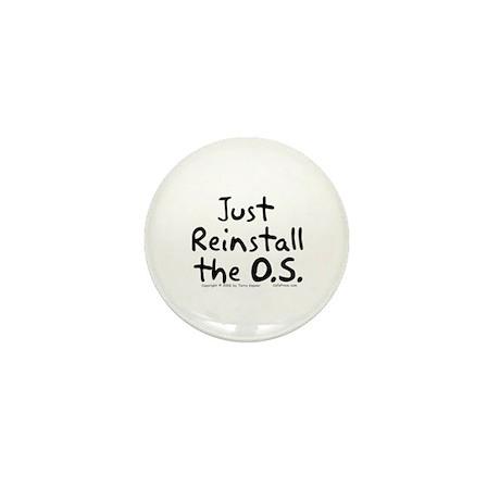 Just Reinstall... Mini Button (10 pack)