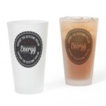 Support The Keystone Pipeline Drinking Glass