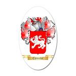 Chevretot 35x21 Oval Wall Decal