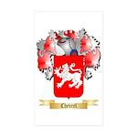 Chevrel Sticker (Rectangle 50 pk)