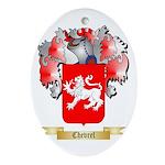 Chevrel Ornament (Oval)