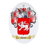 Chevre Ornament (Oval)