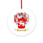 Chevre Ornament (Round)