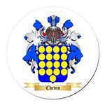 Chevin Round Car Magnet