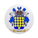 Chevin Ornament (Round)