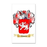 Chevers Rectangle Car Magnet