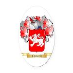 Cheverill Oval Car Magnet