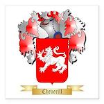 Cheverill Square Car Magnet 3