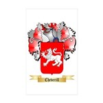 Cheverill Sticker (Rectangle 50 pk)