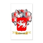 Cheverall 35x21 Wall Decal