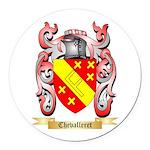Chevalleret Round Car Magnet