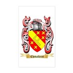 Chevalleret Sticker (Rectangle)