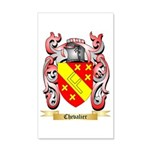 Chevalier 35x21 Wall Decal