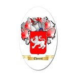Cheuret 35x21 Oval Wall Decal