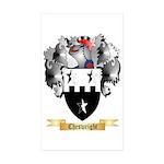 Cheswright Sticker (Rectangle 10 pk)